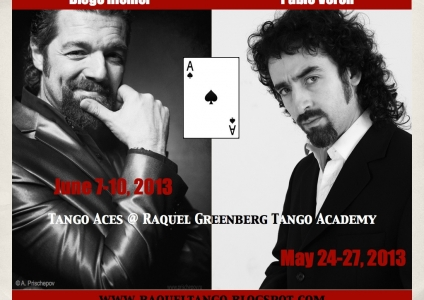 DIEGO RIEMER & PABLO VERON WORKSHOPS - APRIL - MAY 2013